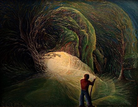 Cave Arte do autor © Jim McCord